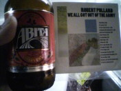 Albums and Alcohol: Episode 25 - Abita's Harvest Series: Pecan & Robert Pollard's We All Got Out of The Army