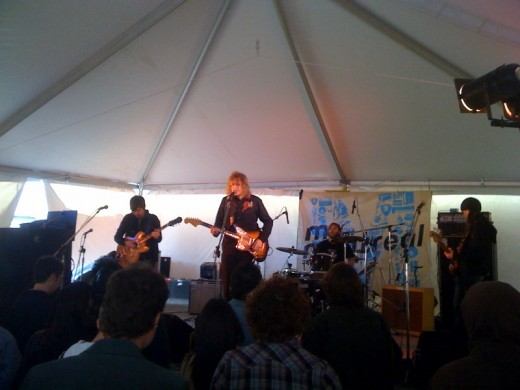 The Besnard Lakes at SXSW 2010