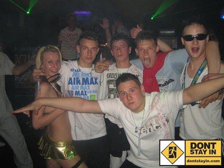 Kids in a club