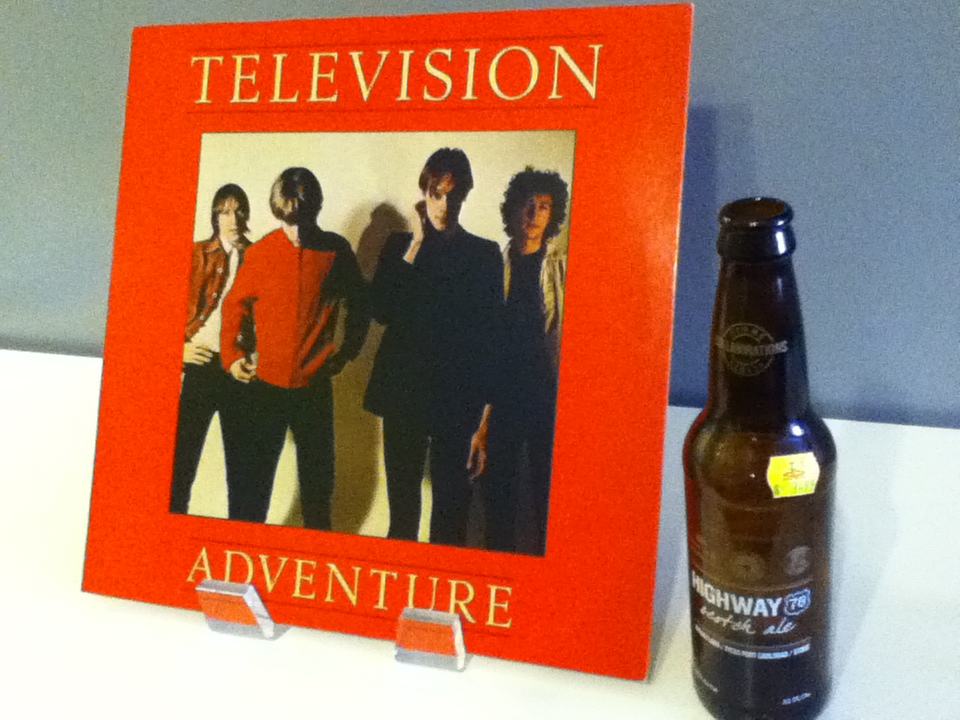 Television and Stone Brewery