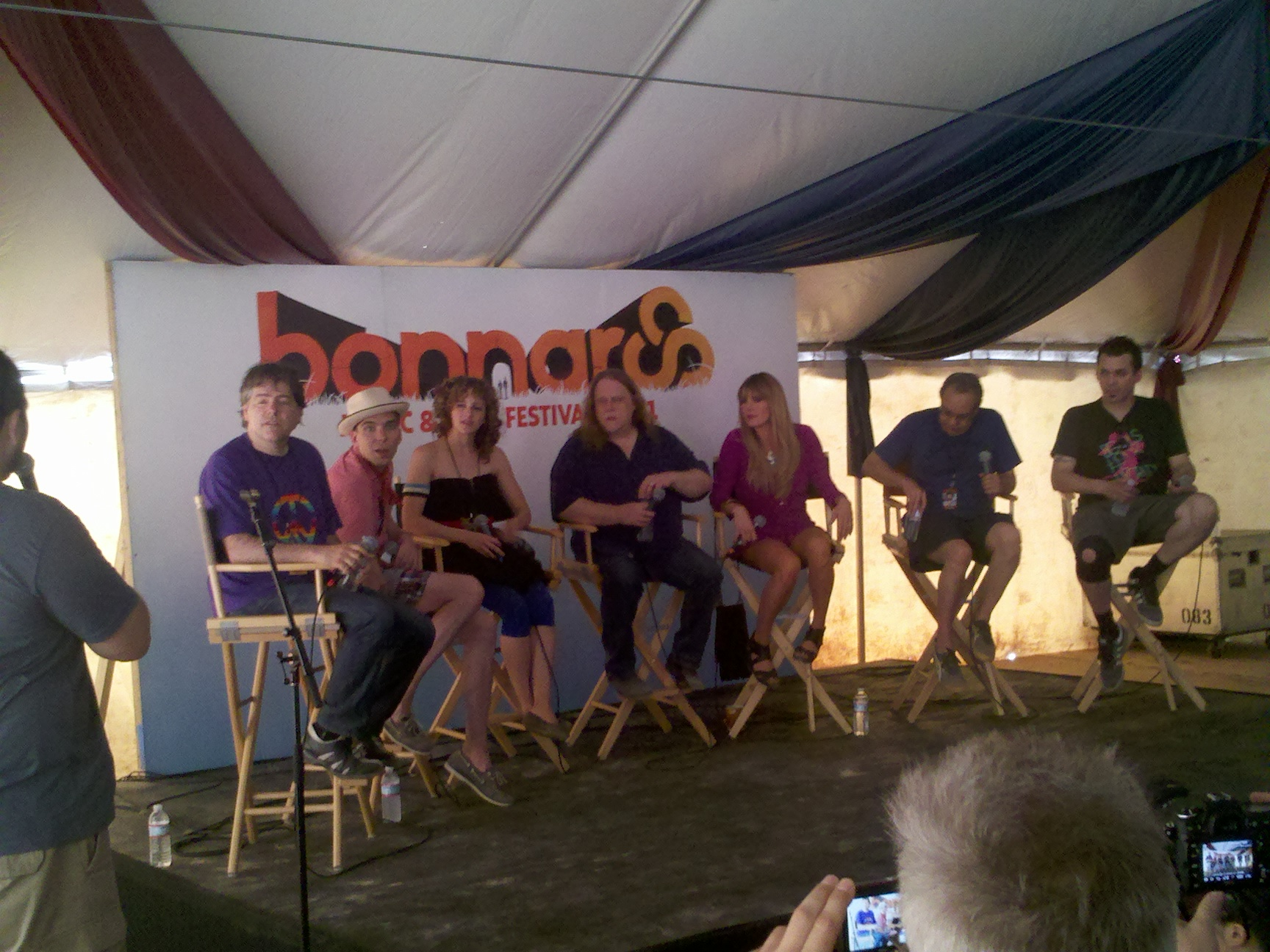 Bonnaroo day 2 press conference