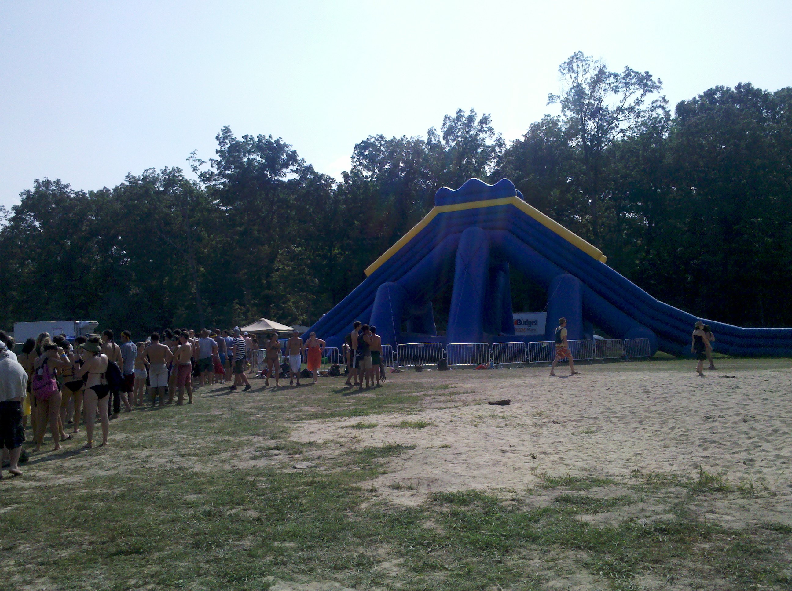 Bonnaroo Waterslide