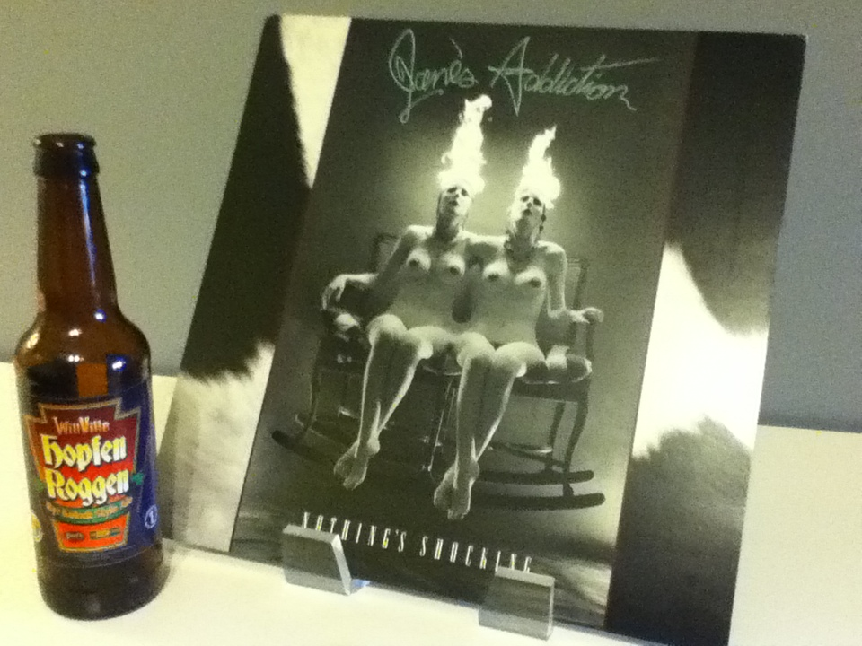 Albums & Alcohol: Jane's Addiction & The Brew Kettle and Willoughby Brewing Co.