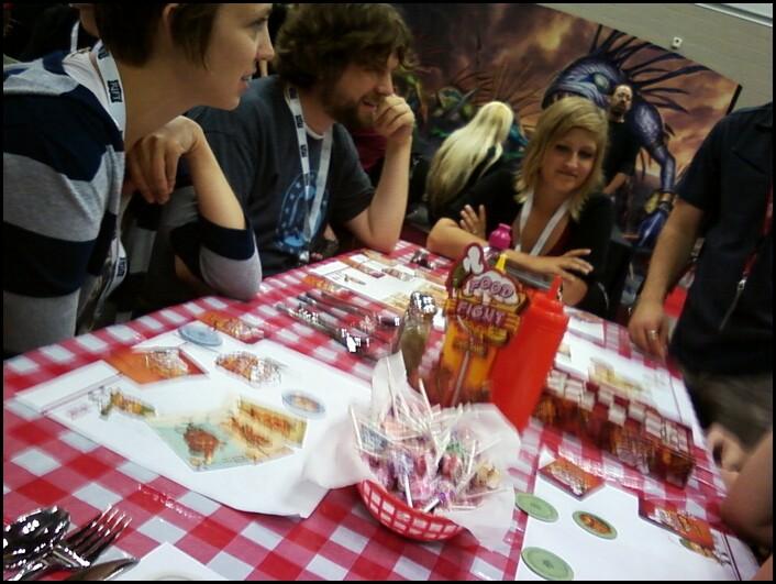 Gen Con 2011: Food Fight