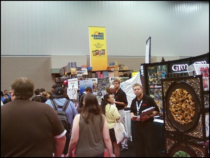 Gen Con 2011: Day 1