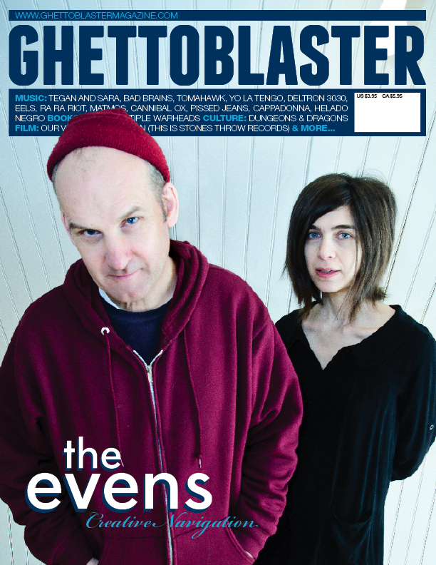 Ghettoblaster Magazine issue 34