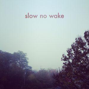 Slow No Wake