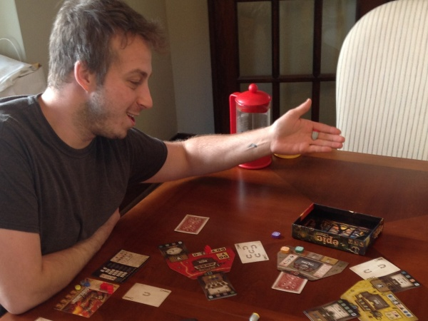 Gamelyn Games' Tiny Epic Western review